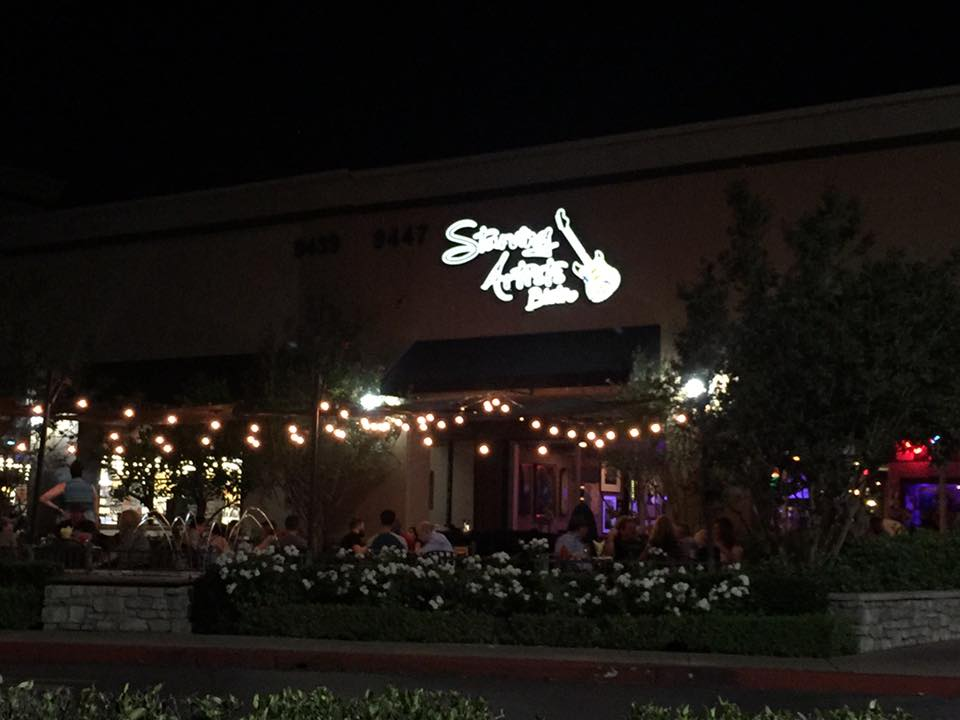 With Beautiful Outdoor Lighting A Flowing Fountain And The Continuous Flow Of Live Music Starving Artists Bistro Has Some Most Magical