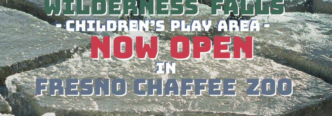Wilderness Falls Now Open in Fresno Chaffee Zoo