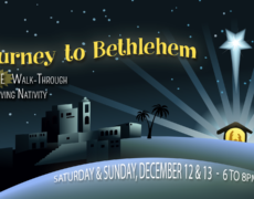 """Journey to Bethlehem"" Free Christmas Event Dec 12 & 13th"
