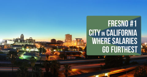 Fresno #1 City in California Where Salaries Go Furthest