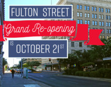 Fulton Street Grand Re-Opening is October 21st