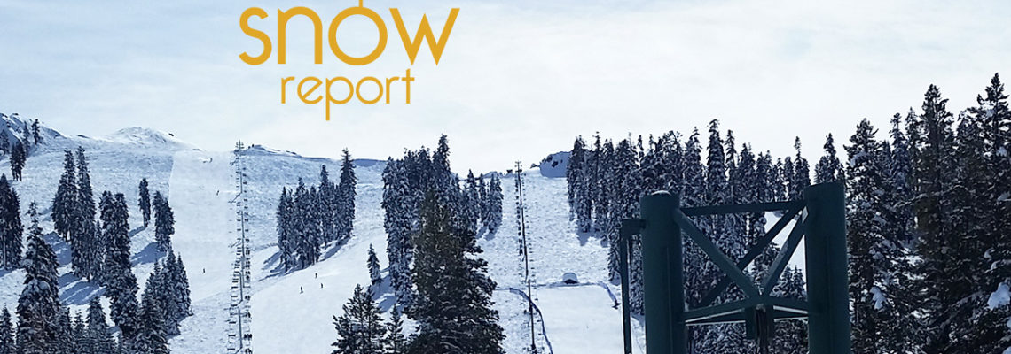 China Peak Snow Report