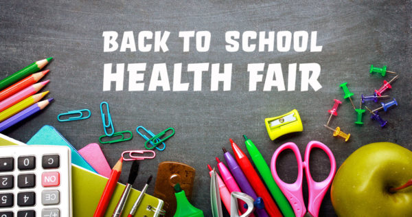 Back To School Health Fair